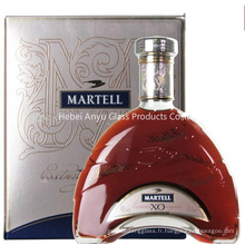 700ml Bouteilles de verre à vin sur mesure pour la vodka, la tequila, le brandy, le whisky, le vin, le rhum