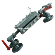 Mesure de niveau de liquide anti-explosion à tube de verre - Capteur de niveau de carburant