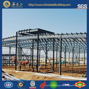 Sala de Exposición de Coche de Estructura de Acero (SS-16129)