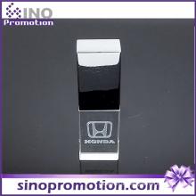 Hochwertiger Transparent Metall OTG Pen Drive 8GB