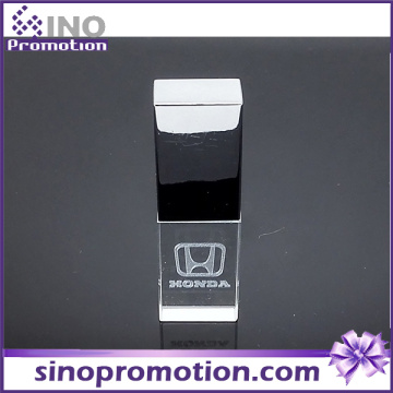 De alta calidad de metal transparente OTG Pen Drive 8GB