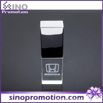 Alta Qualidade Transparente Metal OTG Pen Drive 8GB