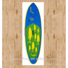 Popular ~~~~! 2016 modelo de aire inflar barato paddle board puntiagudo nariz ISUP