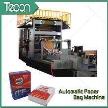 High-Speed Bottom-Pasted Paper Bag Making Machine for Cement (ZT9804 & HD4913)