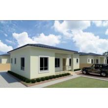 Casa prefabricada de acero ligero asequible