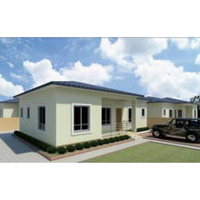 Casa de aço leve pré-fabricada disponível