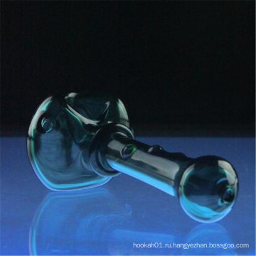Черная сотовая головная ложка для курильщика с акцентами DOT (ES-HP-005)