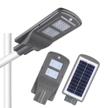 Neues Produkt in einer leichten Solarstraße
