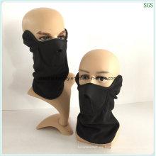 Máscara facial de la máscara del polvo polar del paño grueso y suave sin el desgaste del ojo El 100% a estrenar y alta calidad