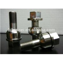 parafuso de roda titanium alto do strengh Ti6AL4V para o automóvel