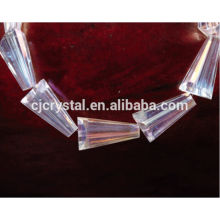2015 hot selling crystal pagoda glass beads wholesale factory