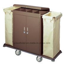 Гостиничный номер Домашнее хозяйство Тележки Тележка для перевозки постельного белья