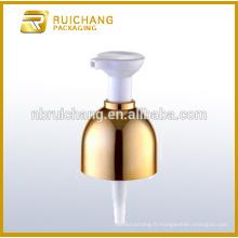 Pompe à lotion en plastique / pompe à lotion 24 mm / distributeur de pompe à lotions Revêtement uv