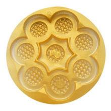 Plateau en plastique transparent de biscuit jetable de boursouflure Magasin en plastique bon marché de plateau d'emballage de biscuit de PVC