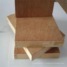Panneau en panneaux de peuplier 18mm utilisé pour les meubles