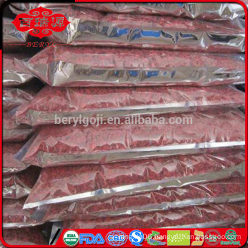 EU standard dried goji berries in low pesticide