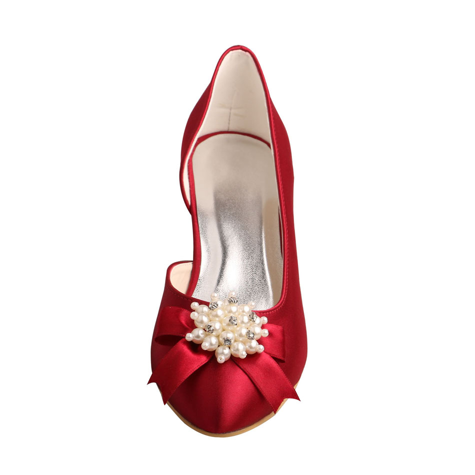 Low Heel Bridal Shoes