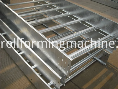 Ladder Type Cable Tray Panel Roll Forming Machines
