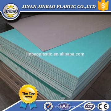 factory direct sale 1.8mm 2mm thin hard board pvc rigid plastic sheet
