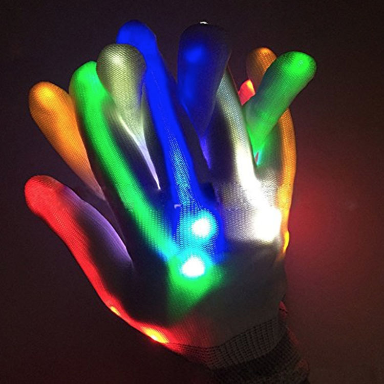 Low Price Glowing Gloves