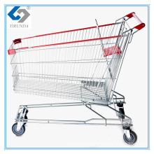 210L Asia Shopping Carts with Big Capacity for Seniors