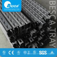 Hot Dip Glavanized Steel Schlitz Strut Channel mit CE, SGS, UL (C-Kanal, Unistrut, Uni Strut Kanal)