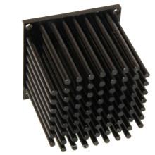 Dissipateur thermique d'aileron mené passif en aluminium 10w.
