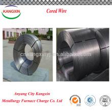 alambre de soldadura con núcleo de fundente de aluminio