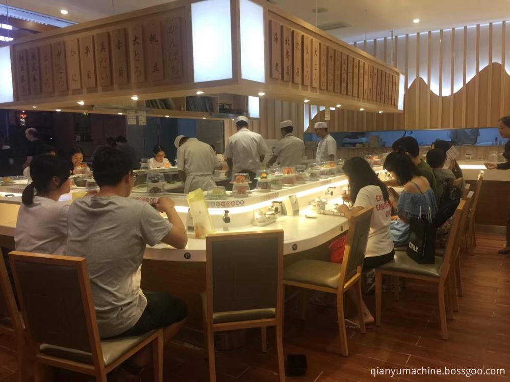 Custom Rotating Sushi Conveyor Belt
