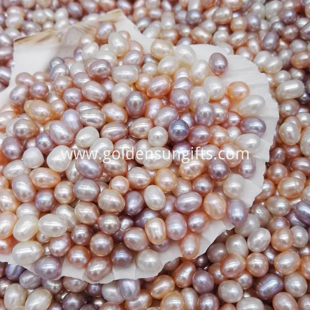 Colorized Pearl Beads