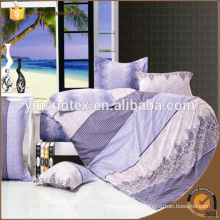 Best quality 100% polyester bedclothes bedding sets bed sheet set