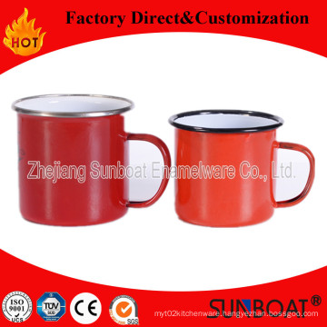 Sunboat Milk Thickened Enamel Pot/Tin Cup Tableware Kitchenware/ Kitchen Appliance