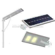 Luz solar conduzida toda em uma luz de rua solar integrada 20W conduzida