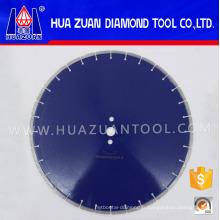 Lame de scie au diamant de 450mm de diamètre de soudure de laser pour la pierre