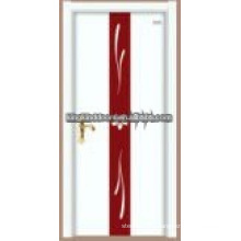 Latest design commercial steel wooden door JKD-S07 made in China