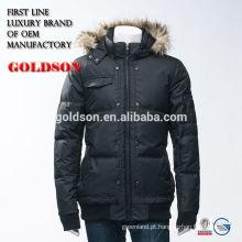 Jaqueta para homens com capa grande de caipira com capuz