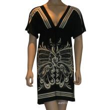 Горячая продажа и высокое качество одежды в 2015 году дамы и женщины моды рукавом сексуальное платье