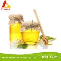 Miel de acacia cruda y leche