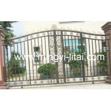 Садовые ворота из кованого железа высокого качества