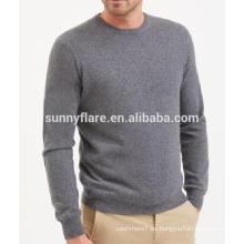 Suéter de cachemira en punto de los hombres de la venta caliente