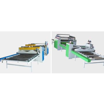Semi-Automatic Paper Sticking Line