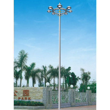 20 Meters 45 meters high mast lighting poles