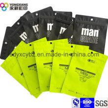 Bolsa de plástico de embalaje de aluminio de la ropa interior