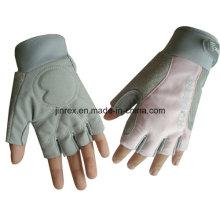 Einfacher Turnhallen-Fahrrad-halber Finger-Radfahrenauffüllen-Fahrrad-Sport-Handschuh