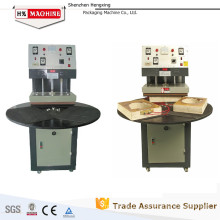 Manual Turntable Blister Thermo Sealer Packing Machine