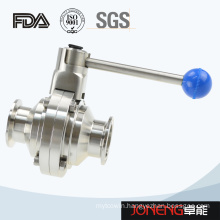 Stainless Steel Sanitary Butterfly Type Ball Valve (JN-BLV2009)