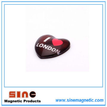 Professionally Customer-Made Beautiful Creative Glass Glue Fridge Magnet