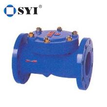 Swing check valve ductile iron anechoic check valve
