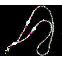 Fashion cute neck bling lanyard id
