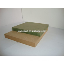 MR (Moisture Resistant) MDF for sale/ Waterproof MDF boards